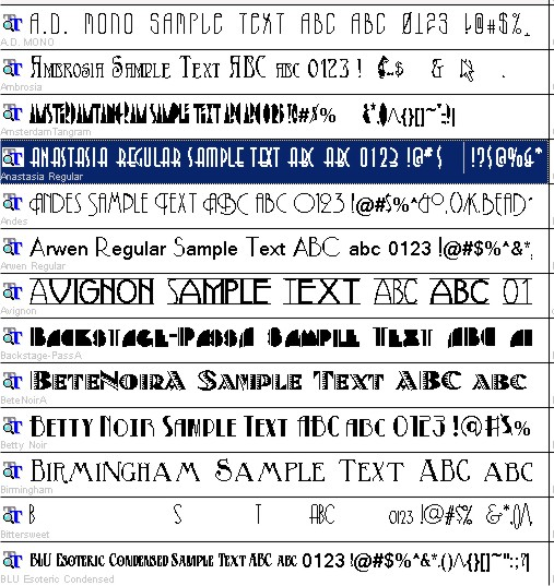Vietnamese Fonts Pack